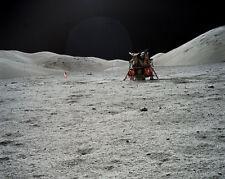 Apollo 17 Mond Modul On Moon Nasa 11x14 Silber Halogen Fotodruck