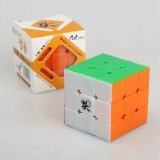 3x3x3 Mini Speed Cube Stickerless Twist 3x3 Puzzle Dayan V5 ZhanChi Magic Puzzle