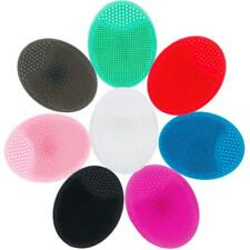 Deep Pore Cleansing Silicone Exfoliating Face Brush Facial Massage Cleansing Pad