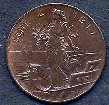 2  Centesimi 1917  conservazione q.FDC