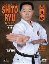 KARATE SHITO RYU  KATA SERIES VOLUME 1, 2, 3, 4 & 5 by Kunio Miyake