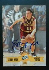 1996-97 STEVE NASH PRESS PASS AUTOGRAPH ROOKIE CARD SIGNED RC AUTO SANTA CLARA