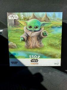 NEW STAR WARS The Mandalorian Puzzle •  Grogu Baby Yoda • Turning Point