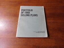 Portfolio Of 1968 Selling Plans - Sales Management, The Marketing Magazine