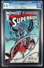 Superboy New 52 #1 CGC 9.8! White Pages! (DC Comics 2011)