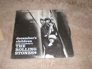 The Rolling Stones LP December's Children STEREO