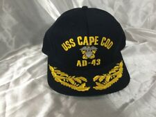 USS CAPE COD AD-43 Scrambled Eggs VIP Snap Back Hat Made In USA