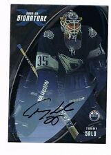 TOMMY SALO 2002-03 BAP SIGNATURE SERIES SILVER HARD SIGNED AUTO
