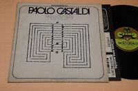 PAOLO CASTASLDI LP PROG AVANT GARDE 1°ST ORIG ITALY 1975 CRAMPS NM ! UNPLAYED !