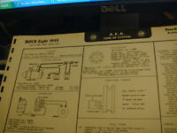 55 buick canada tuneup specs wiring diagram