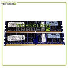 408853-B21 HP 4Gb (2 x 2gb) PC2-5300P Memory Kit 405476-051