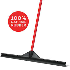 Heavy Duty Floor Scrubber Squeegee - Extra-Wide 60 CM Natural Rubber Solid