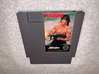 Rambo (Nintendo Entertainment System, 1988) NES Game Cartridge Exc / Nr Mint!