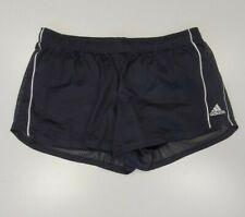 J550 Mujer Adidas Negro Transpirable Forrado Deporte Correr Pantalones Cortos Reino Unido L 16-18 W34-36