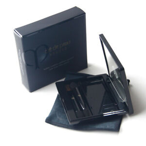 CLE DE PEAU BEAUTE CASE FOR EYE COLOR QUAD WITH 2 APPLICATORS BRAND NEW IN BOX
