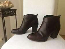 MICHAEL KORS Stiefeletten Ankle Boots Booties braun Leder Gr. 9 (39/40)