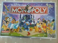 Disney Edition Monopoly Board Game 2001 - Hasbro Waddingtons Complete
