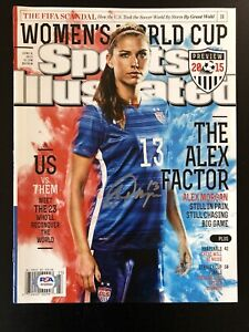 Alex Morgan Signed Autographed Sports Illustrated Magazine USWNT Soccer PSA