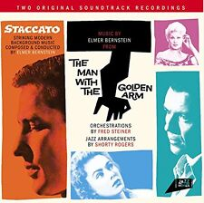 Elmer Bernstein  JOHNNY STACCATO + THE MAN WITH THE GOLDEN ARM
