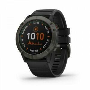 Garmin - Fēnix 6X Pro Solar Ultimate Multisport Gps Watch - Black Brand New