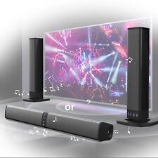 More details for detachable surround sound bar system wireless bluetooth soundbar tv/home theater