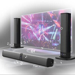Detachable Surround Sound Bar System Wireless Bluetooth Soundbar TV/Home Theater