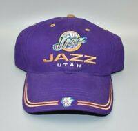 Utah Jazz Vintage Twins Enterprise NBA Adjustable Strapback Cap Hat - NWT