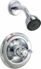 Delta T13290 Single Handle Monitor Shower Valve Shower Only Trim Only with Press