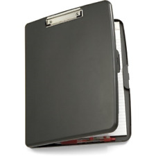 Officemate Storage Clipboard Case with Low Profile Clip, Gray 83375