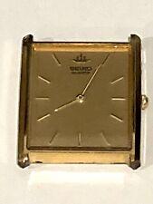 Vintage Seiko Watch, Gold Tone Seiko Quartz 5Y30-5060 Japan works