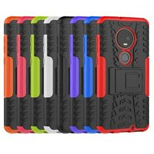 For Motorola T-Mobile REVVLRY+ Plus Case Shockproof Rugged Stand Armor Cover