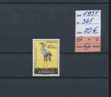 LM39546 Angola 1951 birds animals fine lot MNH cv 70 EUR
