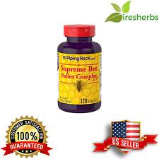 SUPREME BEE POLLEN COMPLEX PLUS POWERFUL BOOST IMMUNE DIET SUPPLEMENT 120 TABS
