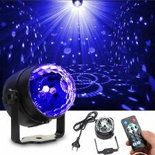 UV Disco Lichteffekt LED Discokugel Schwarzlicht Bühnenlicht DJ Party Remote CE