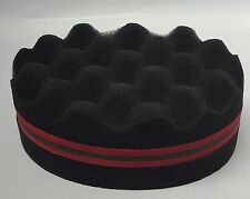 Cepillo de Pelo Esponja Para Chiquillo Afro Locs retorcer rizos herramienta de la bobina Magia Doble Cara