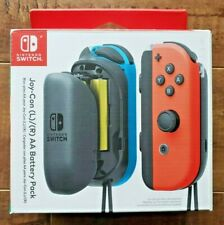 NINTENDO SWITCH Joy-Con Left & Right AA Battery Pack NEW OPEN BOX