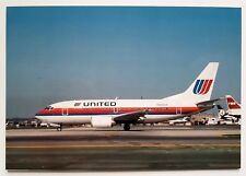 United Airlines Boeing 737-500 Postcard