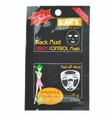 FACY Black Mud Sebum Control Mask & Aloe Vera & Seaweed Peel-Off Mask 10g