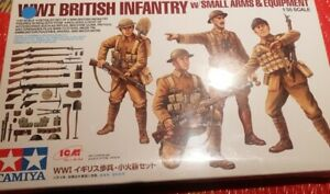 Tamiya 1/35 Scale WWI British Infantry. W/small Arms - Still Sealed