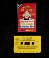 Vintage 1991 The World Of Colors Play & Learn Professor Playtime Cassette Tape