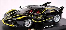 Ferrari FXX-K #44 F140 V12 noir noir 1:43 Bburago Série Signature