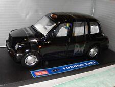 SUN STAR 1998 LONDON TAXI CAB BLACK 1/18 DIECAST CAR