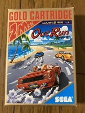 SEGA MarkⅢ Out Run Japanese version 1987 drive game Japan NTSC-J