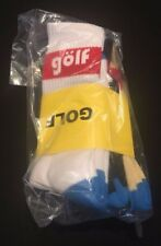 Official Golf Wang Tyler The Creator White Black Light Brown Euro 3 Pack Socks