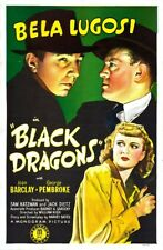 BLACK DRAGONS 1942 Thriller War Movie Film INSTANT WATCH