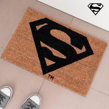 SUPERMAN DC COMICS TAPPETO ZERBINO TAPPETINO FUORI PORTA SUPERMEN FIBRA DI COCCO