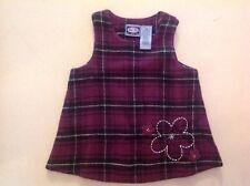 KOALA KIDS Baby Toddler Girl Sleeveless Purple & Black Dress Size 12 Months