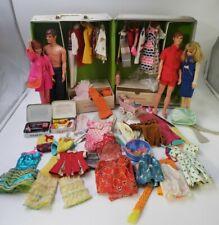 New ListingHuge 1960s Vintage Barbie Francie Ken Doll; Case Clothes Accessories toy Lot L3