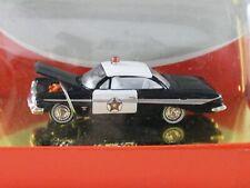 1961 Chevrolet Impala Police Car Mini Metals Classic Metal Works HO 1:87 30116
