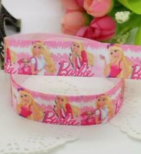 Barbie Character 22mm Grosgrain Ribbon for Card Making & Bows